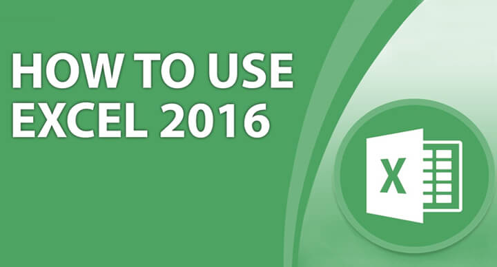 How to use excel 2016
