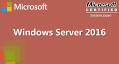 MCSE Windows Server 2016