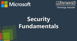 Security Fundamentals (98-367)